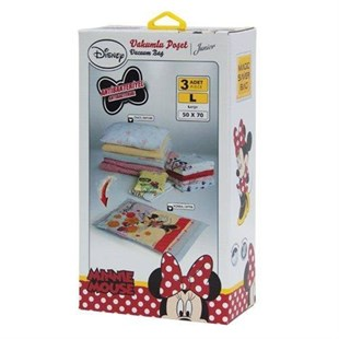 Magic Saver Minnie Mouse Vakumlu Hurç Seti
