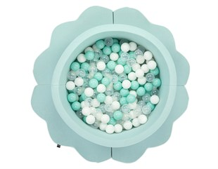 Wellgro Bubble Pop Bulut Matlı Top Havuzu-Mint